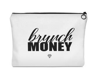 Brunch Money  Makeup Bag
