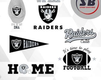 Oakland Raiders, American Football, sports, dxf, svg, eps, jpg, png files, football team BS-014