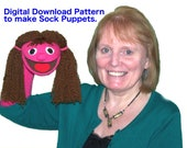 03. Sock Puppet Pattern by Churchpuppets