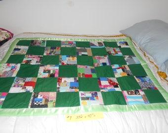 green patchwork #7