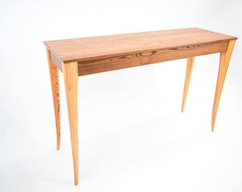 Reclaimed Heart Pine Hall Table