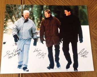 Wayne Gretzky;  Gordie Howe;  Mario Lemieux Signed  10x8