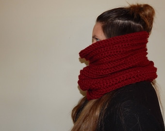 Face Shielding Infinity Scarf