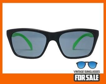 Vintage sunglasses Bollé 527 Green original made in France 1983