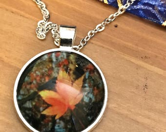 Fall Leaf Pendant