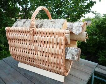 Firewood Holder. Log Carrier. Firewood Rack. Firewood Carrier. Firewood Storage. Log Basket. Fireplace Log Holder. Large Log Basket.