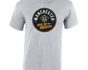 Heather Grey T-Shirt (Cog Round)