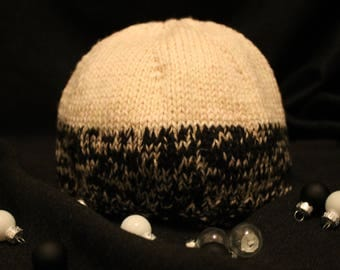 The December. Hand-knitted Wool Hat