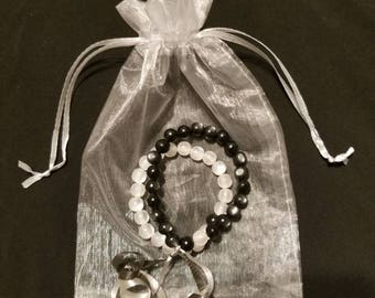 Set of Distance Bracelets