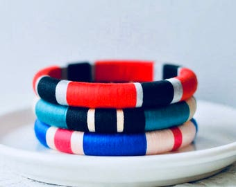 Single everyday colourful bangles