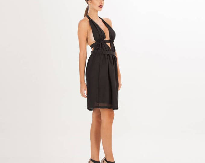 Little Black Dress - Women Black Dress - Cocktail Dress - Midi Dress Summer - Dress Sexy Black - Dress Gift for Wife - Sexy Dress
