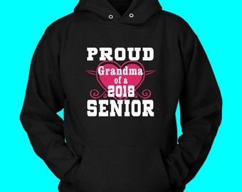 Proud Grandma Of 2018 Senior- Graduation Shirts