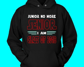 Junior No More - Hoodie Slogans