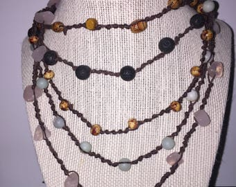 Hand Made Prayer Beads from our Gypsy Collection