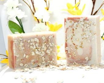 Oatmeal Honey Goat Milk Soap, Oatmeal Honey, Goat Milk Soap