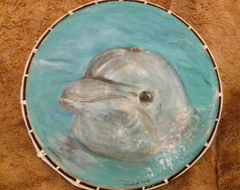 20 inch shamanic drum 'atlantis messenger'