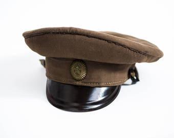 USSR Soviet Union Vintage Military Hat