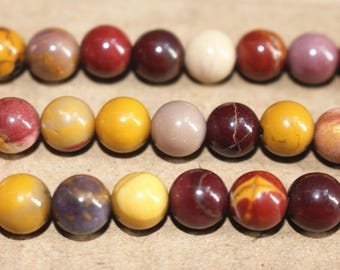 15 inches Full strand,Mookaite Jasper round beads 6mm 8mm 10mm 12mm,loose beads,semi-precious stone