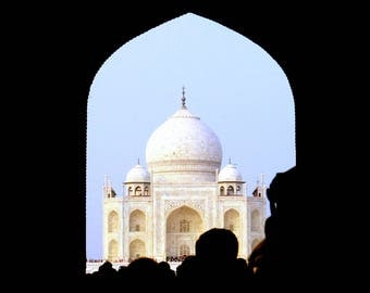 First Look, The Taj Mahal Photographic Wall Art
