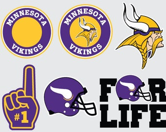 Minnesota Vikings  SVG PNG DXF File Vector Cricut and Silhouette Instant Download
