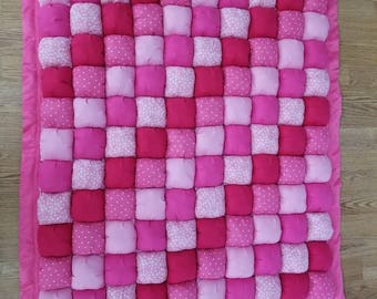 Baby Girl Bubble Quilt
