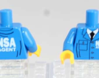 NSA custom torsor for LEGO® minifigures