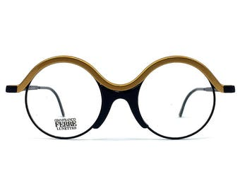 Gianfranco Ferre' GFF 41 Vintage Round Sunglasses/ Alutanium / NOS