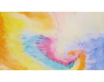 Watercolor Tye Dye