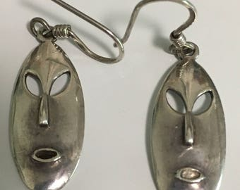 Sterling Silver Peirced Earrings