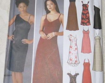 Simplicity 5244 Sewing Pattern Design Your Own Special Occasion Evening Gown, Women's Size DD 4 - 10