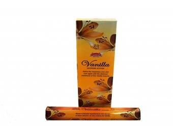 Vanilla Ganesh Incense 120 rods/6 by 20 Uni