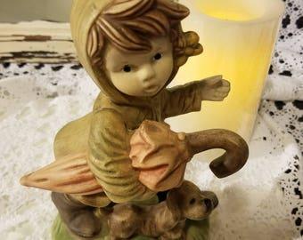 April Showers figurine