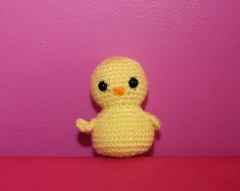 Chick Crochet Toy