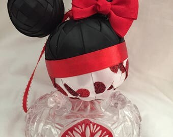 Minnie Quilted ornament