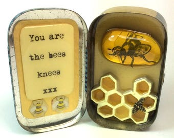 Bees Knees Resin Art Box