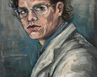 Bruce Banner, Original soft pastel painting