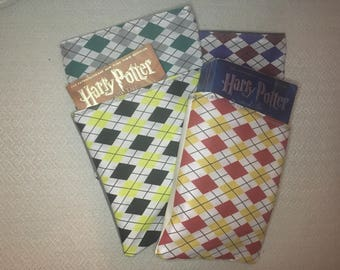 Harry Potter Hogwarts House Colors Book Sleeve