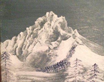 Three Finger Jack Mountain Range, Oregon