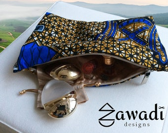 Make Up pouch from Zawadi designs