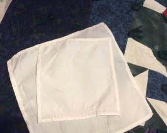 Simple LDS Temple Dedication handkerchief