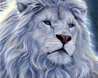 "Full Diamond 5D DIY Diamond Painting ""Lion King"" 3D Embroidery Set Cross Stitch Mosaic Decoration Gift VIP"