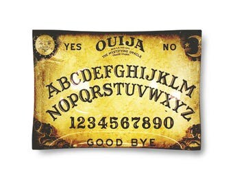 Glass ouija   Rolling Tray