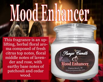 Mood Enhancer Scented Jar Candle (16 oz.)!