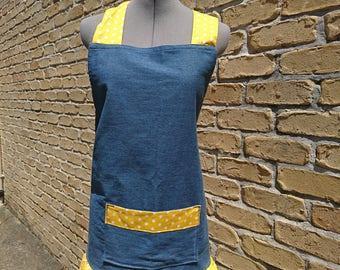 PINAFORE APRON - You Are My Sunshine