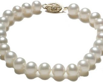 7.5 mm Fresh water pearl bracelet