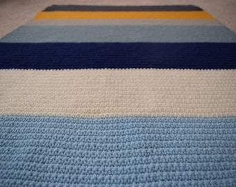 Baby Boy Stripes Blanket