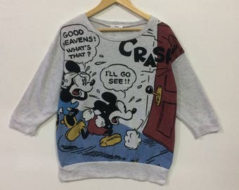 Rare!!! Vintage disney mickey mouse sweatshirt