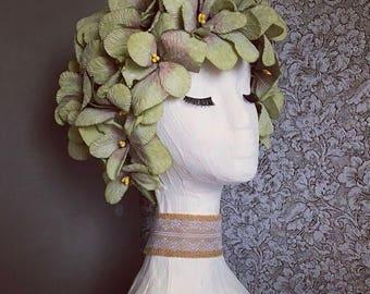 Gypsum Fairy Goddess bust statue