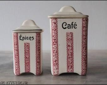 DITMAR URBACH spice jars