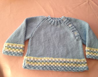 "Jumper for baby age 6 months (18"") chest"